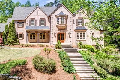 Marietta GA Single Family Home For Sale: $2,589,000