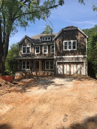 Brookhaven Single Family Home For Sale: 2686 Skyland Drive NE