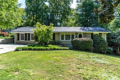 Atlanta Single Family Home For Sale: 1609 Fama Drive NE