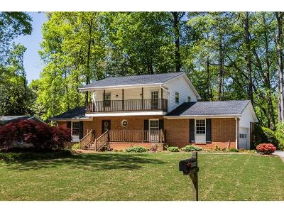 Dunwoody Single Family Home For Sale: 4714 Cambridge Drive