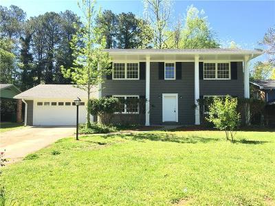 Decatur Single Family Home For Sale: 3477 Oregon Drive