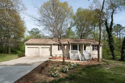 Marietta Single Family Home For Sale: 2512 Fairfield Court SW