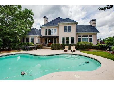 Suwanee Single Family Home Contingent-KO: 5850 Ettington Drive
