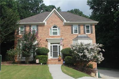 Alpharetta Single Family Home For Sale: 595 Burridge Trail