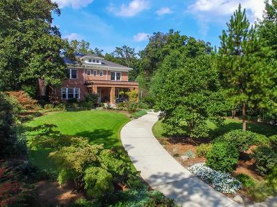 Druid Hills Single Family Home For Sale: 1000 Springdale Road