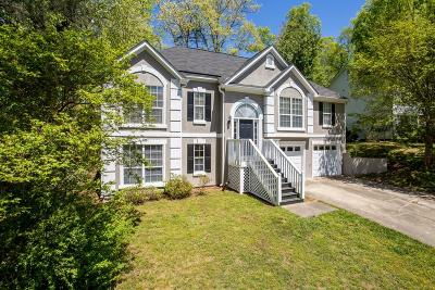 Kennesaw Single Family Home For Sale: 4830 Old Field Drive NE