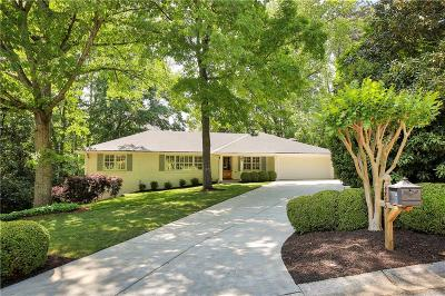 Sandy Springs Single Family Home For Sale: 4750 Huntley Drive