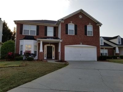 Kennesaw Single Family Home For Sale: 1531 Anna Ruby Lane NW