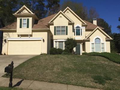 Marietta Single Family Home For Sale: 2989 Nestle Creek Drive