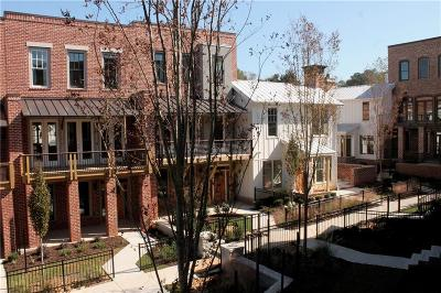 Atlanta GA Condo/Townhouse For Sale: $499,900