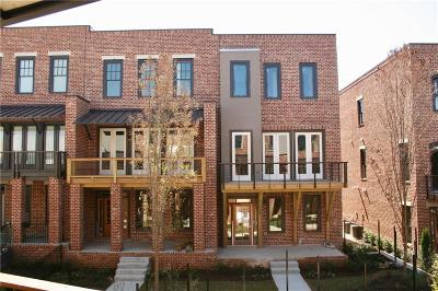 Atlanta Condo/Townhouse For Sale: 1837 Brooks Drive #124
