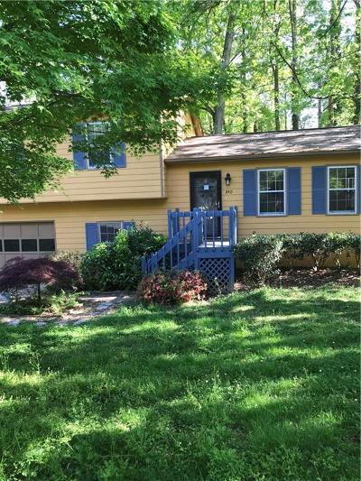 Smyrna Single Family Home For Sale: 840 Wells Circle SE