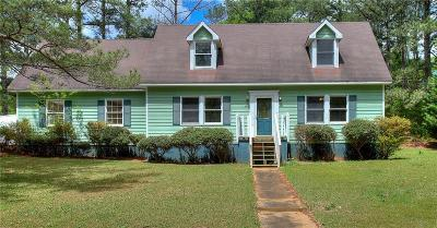 Walton County Single Family Home For Sale: 841 Hickory Drive