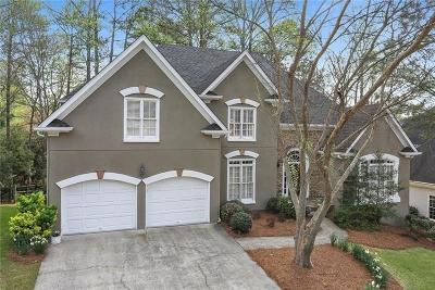 Smyrna Single Family Home For Sale: 4120 Ridgehurst Drive SE