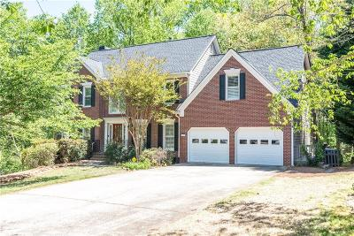 Kennesaw Single Family Home For Sale: 1603 Duxbury Lane NW