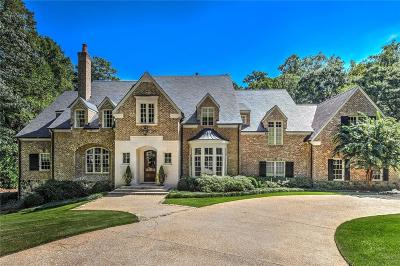 Atlanta GA Single Family Home For Sale: $3,499,000
