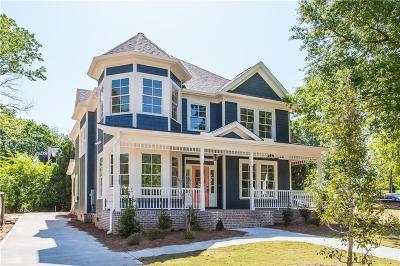Atlanta Single Family Home For Sale: 621 Moreland Avenue NE