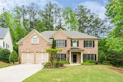 Kennesaw Single Family Home For Sale: 1866 Brackendale Road NW