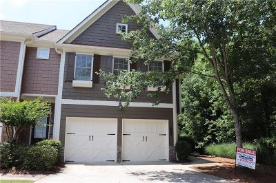 Duluth Condo/Townhouse For Sale: 2393 Meadow Falls Lane