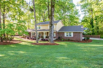 Single Family Home For Sale: 2413 Thompson Mill Road