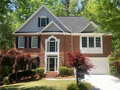 Roswell Single Family Home For Sale: 8020 Sandorn Drive