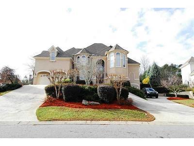 Marietta Single Family Home For Sale: 2503 Regency Lake Drive