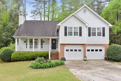 Marietta Single Family Home For Sale: 164 Threechop Drive NW