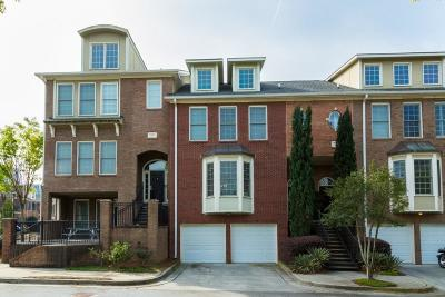 Atlanta Condo/Townhouse For Sale: 186 Centennial Way