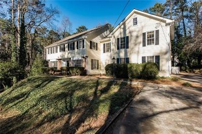 Sandy Springs Single Family Home For Sale: 520 Dalrymple Road