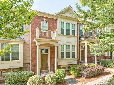 Smyrna Condo/Townhouse For Sale: 2557 Speer Court SE #14