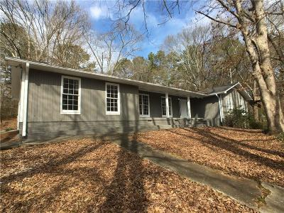 Marietta Single Family Home For Sale: 3131 Royal Oak Drive