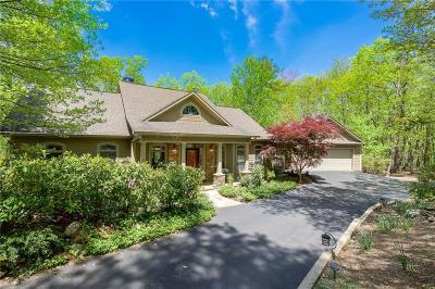 Big Canoe Single Family Home For Sale: 234 Petit Ridge Drive