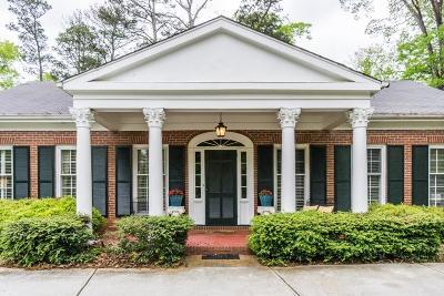 Sandy Springs Single Family Home For Sale: 6688 Brandon Mill Road