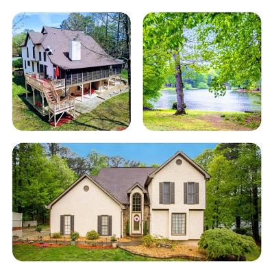 Kennesaw Single Family Home For Sale: 3441 Laurel Green Court NW