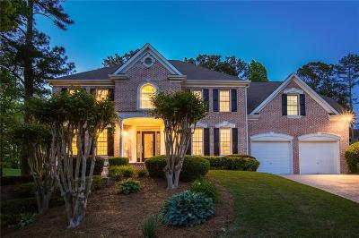 Acworth Single Family Home For Sale: 5820 Brookstone Walk NW