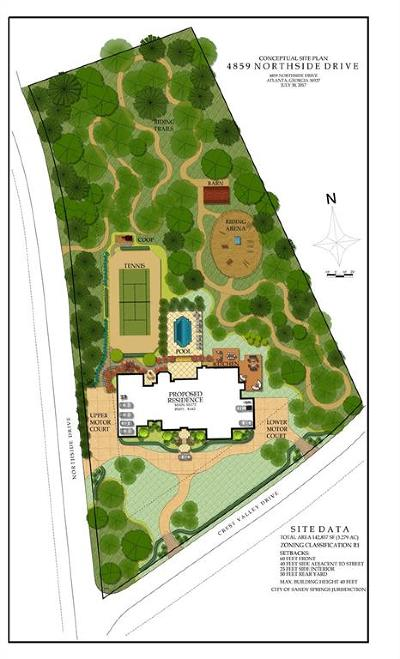 Sandy Springs Residential Lots & Land For Sale: 4859 Northside Drive