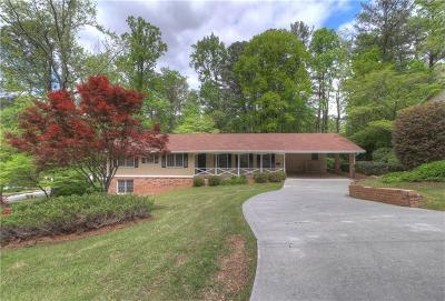 Single Family Home For Sale: 3752 Foxford Drive