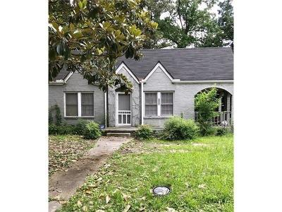 Single Family Home For Sale: 1298 Bolton Road NW
