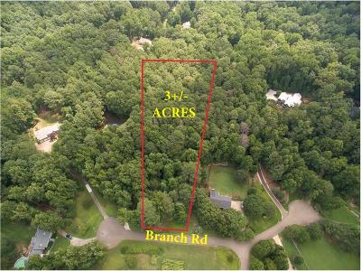 Canton Residential Lots & Land For Sale: 1030 Branch Road