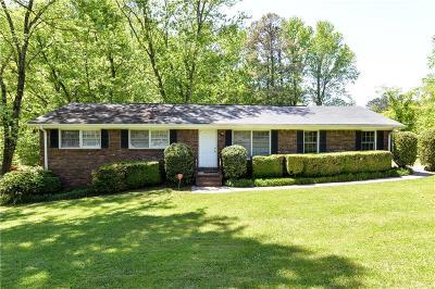 Marietta Single Family Home For Sale: 3031 Tina Lane