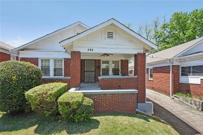 Single Family Home For Sale: 596 Glen Iris Drive NE