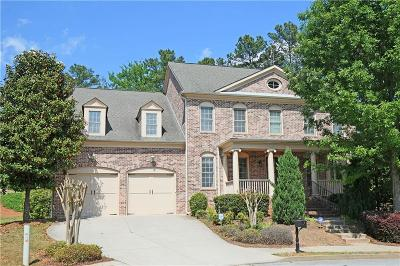 Suwanee Single Family Home For Sale: 7930 Georgetown Circle