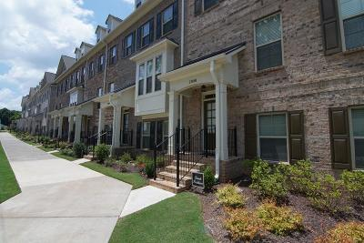 Kennesaw Condo/Townhouse For Sale: 2800 Fuller's Alley