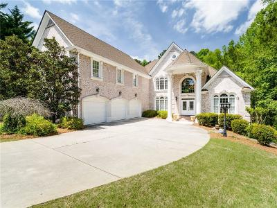 Roswell Single Family Home For Sale: 5885 Plantation Drive
