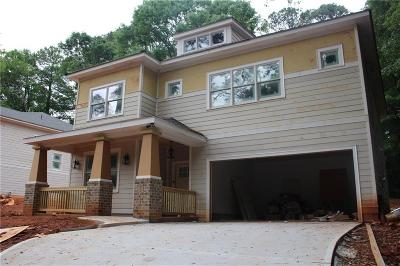 Atlanta Single Family Home For Sale: 2598 E Tupelo Street