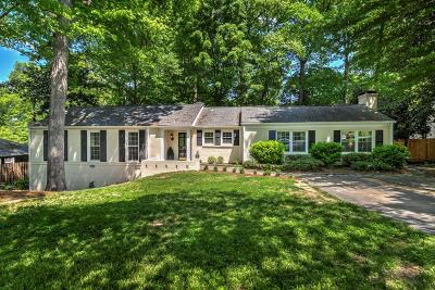 Single Family Home For Sale: 1851 Colland Drive NW