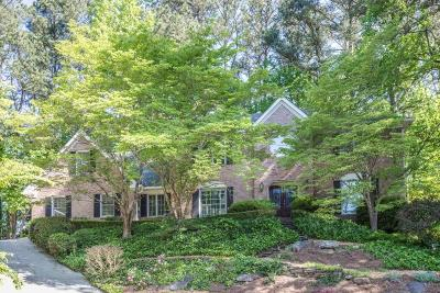 Dunwoody Single Family Home For Sale: 1263 Redfield Ridge