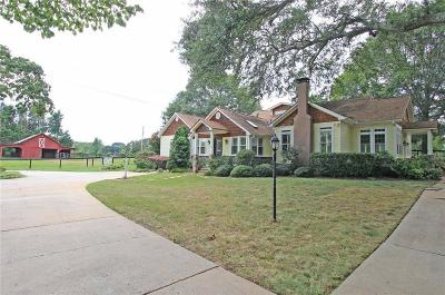 Alpharetta, Milton Single Family Home For Sale: 13850 Hopewell Road