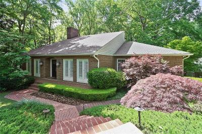 Atlanta GA Single Family Home For Sale: $1,200,000