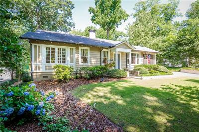 Druid Hills Single Family Home For Sale: 448 Emory Drive NE
